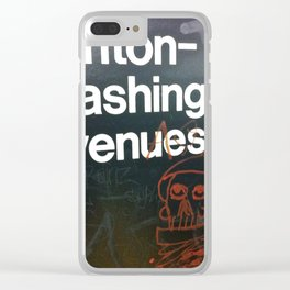 Subway Stories (Pt 9 - New York City) Clear iPhone Case