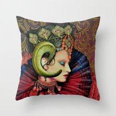 Potnia Theron /Artemis Throw Pillow