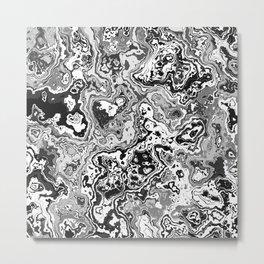 Colorless World Metal Print
