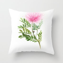 Calliandra Throw Pillow