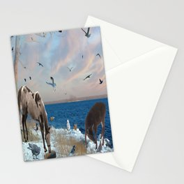 Lake side gatherings Stationery Cards