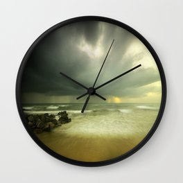 Storm is coming Wall Clock