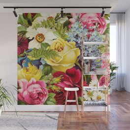 flowers profusion Wall Mural