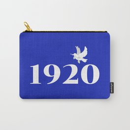 1920 Blue Dove Carry-All Pouch