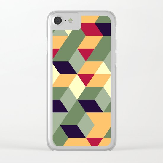 Cube way Clear iPhone Case