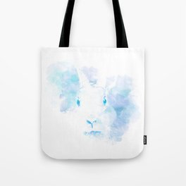 Mystery Rabbit Tote Bag