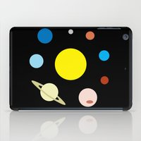 solar system iPad Cases featuring Solar System by fairandbright