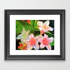 Colorful Characters Framed Art Print