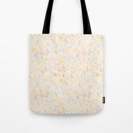 Floral watercolor orange pattern 2 Tote Bag