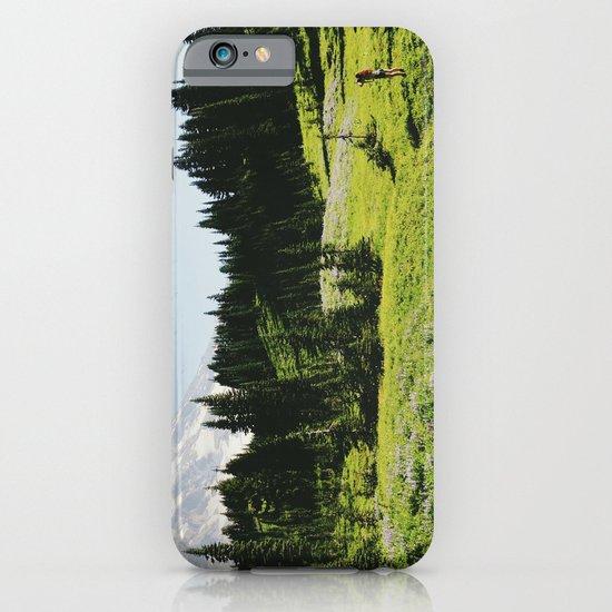 Mt Rainier Shooter iPhone & iPod Case