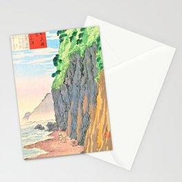 Kobayashi Kiyochika - Sketches of the Famous Sights of Japan - Oyashirazu Coast - Digital Remastered Edition Stationery Cards