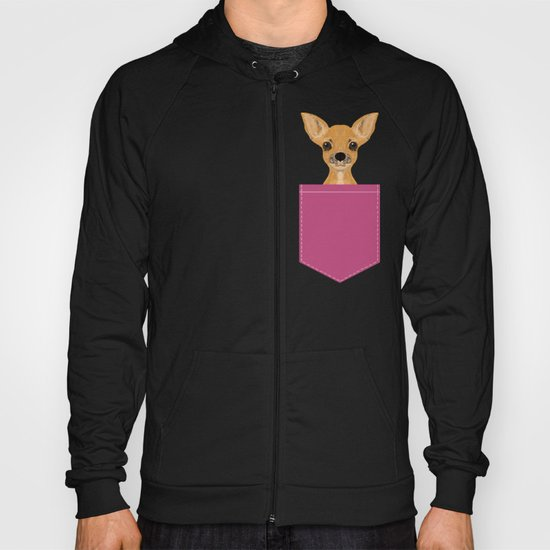 Lulu - chihuahua, cute pet cute dog cell phone case, gift for dog people Hoody