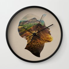 Get Away Wall Clock