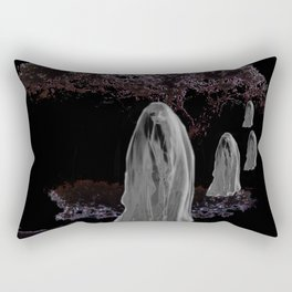 Halloween Ghosts Rectangular Pillow