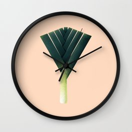 Oh no, theres a leek! Wall Clock