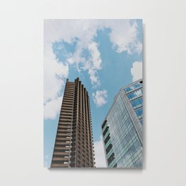 Barbican Offices Metal Print