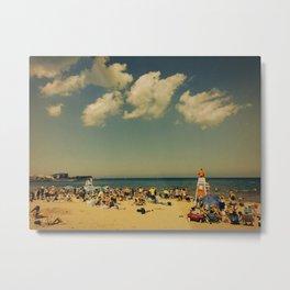 Evanston Beach #2 Metal Print