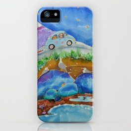 Island Roads iPhone Case