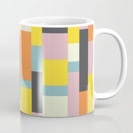 Pastel Geometric Pattern Coffee Mug