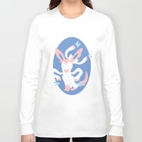 sylveon Long Sleeve T-shirts featuring Sylveon by Polvo