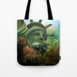 East Coast Sightseeing Tote Bag