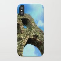 castle in the sky iPhone & iPod Cases featuring Castle by Brian Raggatt