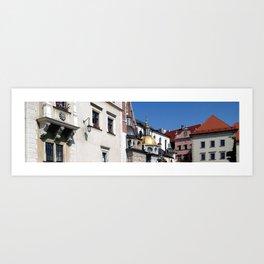 Wawel Cathedral, Kraków, Poland Art Print