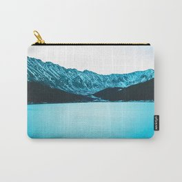 Clinton Gulch // Scenic Sunset Colorado Mountain Range Lake Forest Landscape Photography Decor Carry-All Pouch