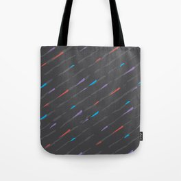 Charcoal Amaretta Rain Tote Bag