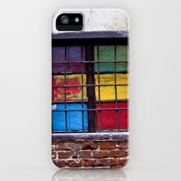 Window of Many Colors iPhone Case