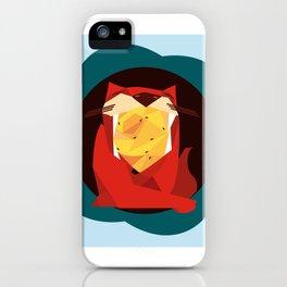 cat&birds iPhone Case