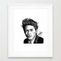 niall horan Framed Art Prints featuring Niall Horan by Hollie B