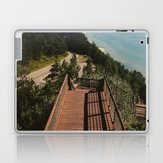 Lake Michigan Overview - Arcadia, MI Laptop & iPad Skin