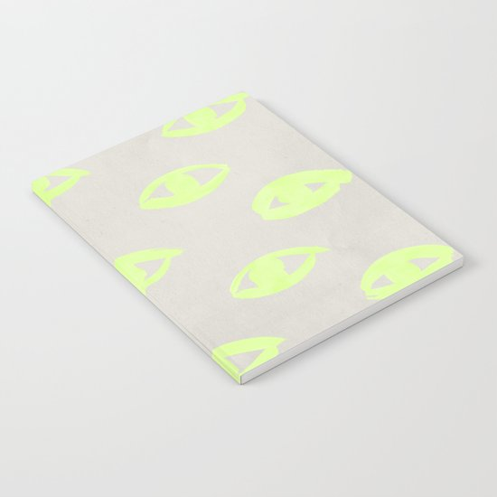 natural neon (eyes) Notebook