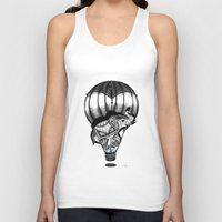 neverland Tank Tops featuring Trip to Neverland  by YelenaYork
