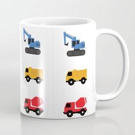 Construction Trucks Coffee Mug