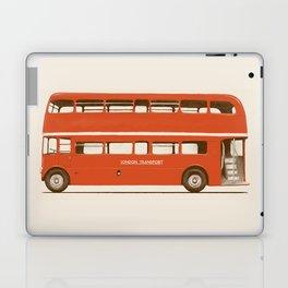 Double-Decker London Bus Laptop & iPad Skin