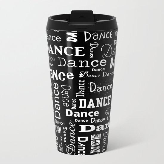 Just Dance! Metal Travel Mug