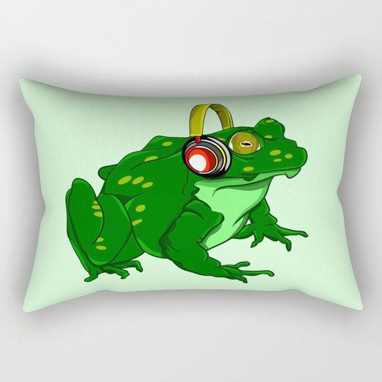 Bullfrog Rectangular Pillow
