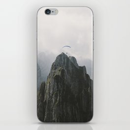 Flying Mountain Explorer - Landscape Photography iPhone Skin