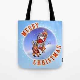 Merry Christmas Snowglobe! Tote Bag