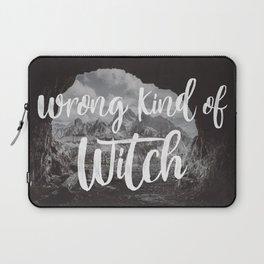 Manon Blackbeak - Wrong kind of witch Laptop Sleeve