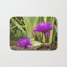 The lotus Bath Mat
