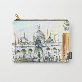 ITALY VENICE SQUARE Carry-All Pouch