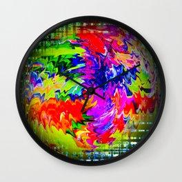 Abstract Perfection 16 Wall Clock