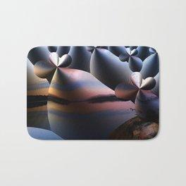 Landscape Creatures Bath Mat