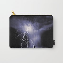 Lightning and Rain Funnel Carry-All Pouch