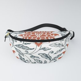 Red chrysanthemum Fanny Pack