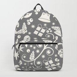 Seamless Christmas pattern Backpack