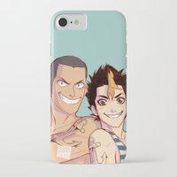 johannathemad iPhone & iPod Cases featuring anchor bros by JohannaTheMad